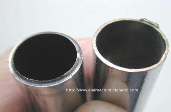 C mo abocardar una tuber a de aire acondicionado for Diferencia entre climatizador y aire acondicionado