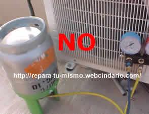 Carga de gas r407 en un equipo split dom stico for Cargar aire acondicionado casa