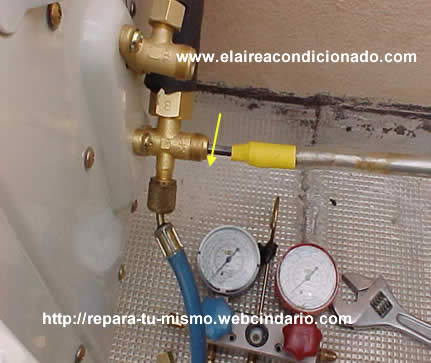 Puesta en marcha del aire acondicionado for Temperatura de salida de aire acondicionado split