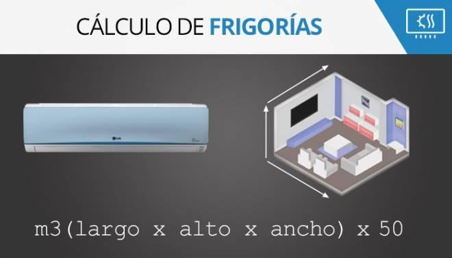 Cálculo de frigorías