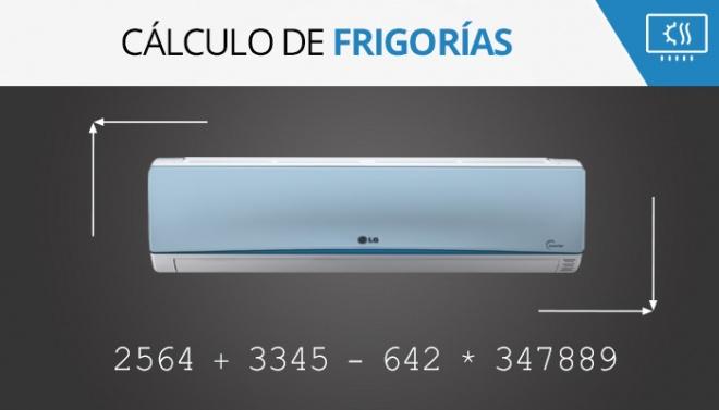 Calcular frigorías para sistemas de aire acondicionado
