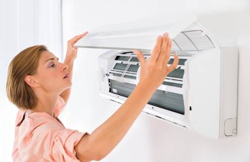 ¿Cómo mantener el aire acondicionado en invierno?