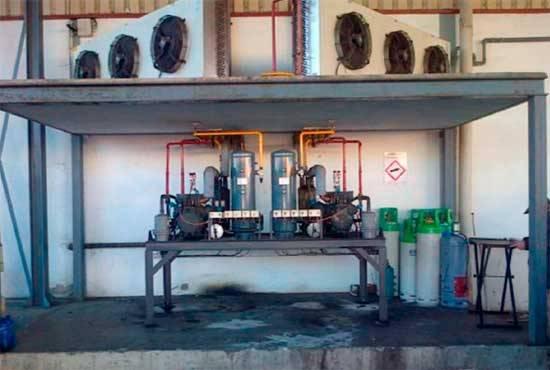 4 refrigerantes en la misma instalación