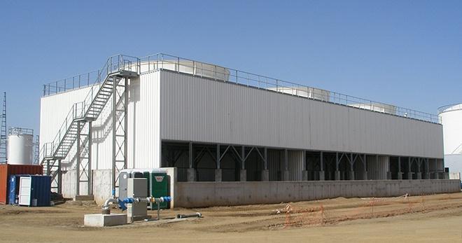 Instalación de refrigeración evaporativa