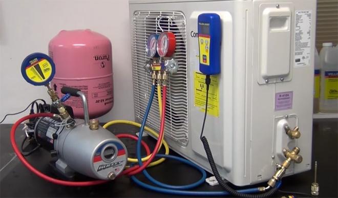 La técnica del vacío en los sistemas de aire acondicionado