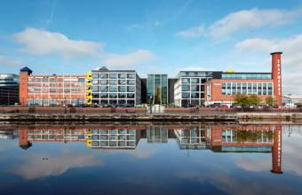 Edificio de Soapworks en Manchester