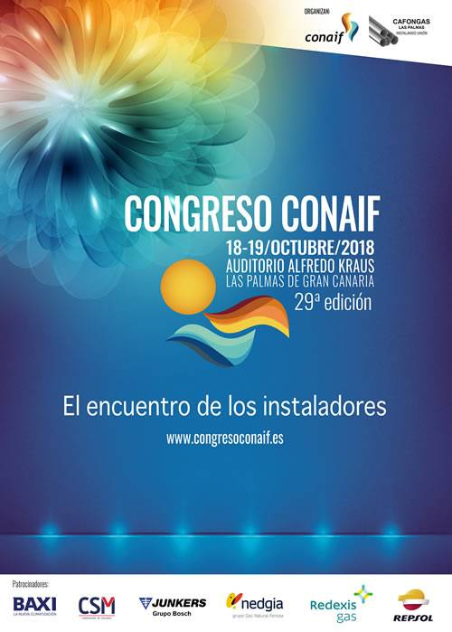 Cartel Congreso Conaif 2018