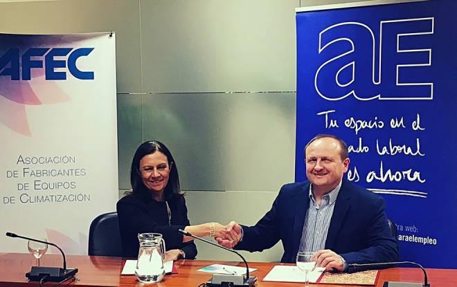 El Ayuntamiento de Madrid y AFEC firman un convenio de colaboración en materia de formación