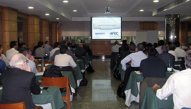Éxito de convocatoria en la Jornada Técnica de AFEC
