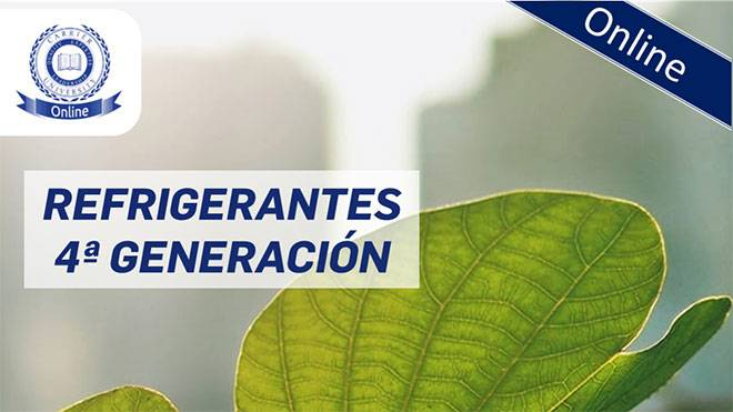 Carrier organiza una Jornada Técnica online sobre refrigerantes de 4ª generación