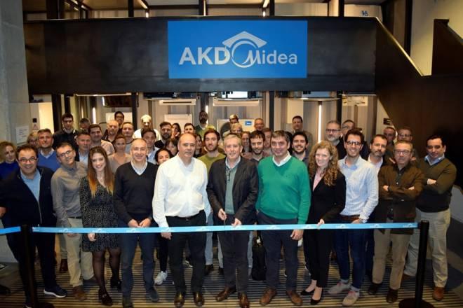 Frigicoll inaugura el centro de formación AKD Midea
