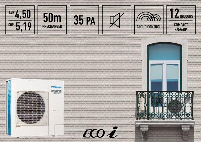 Panasonic lanza su Mini ECOi más compacto y eficiente