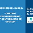 AEFYT lanza un innovador Curso sobre Control Presupuestario y Contabilidad de Costes en Instalaciones Frigoríficas
