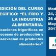 AEFYT presenta la segunda edición de su curso sobre el frío y la industria alimentaria