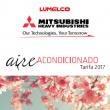 Nueva Tarifa de Aire Acondicionado Mitsubishi Heavy Industries 2017